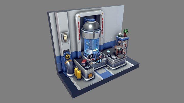 Overwatch - Underwater Workspace (Fan Art) 3D Model