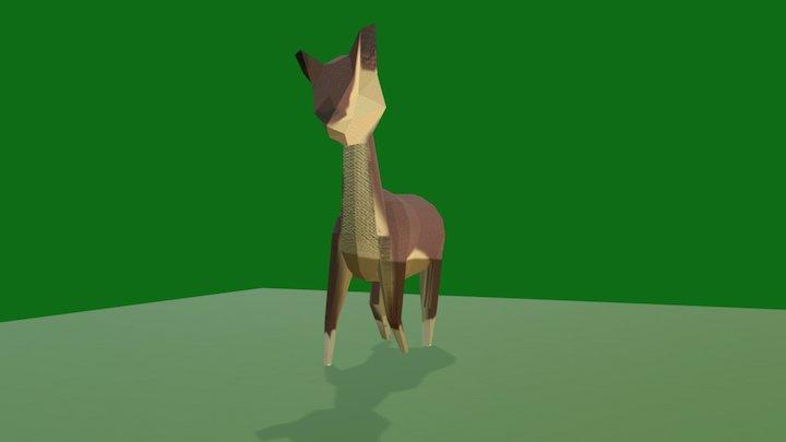 Deer Remodel 3D Model