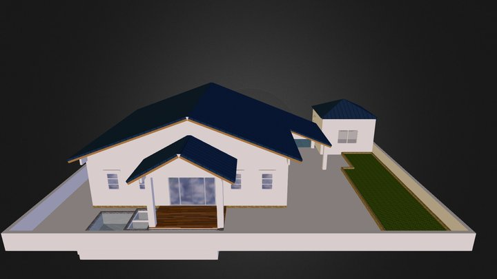 layer1 house 3D Model
