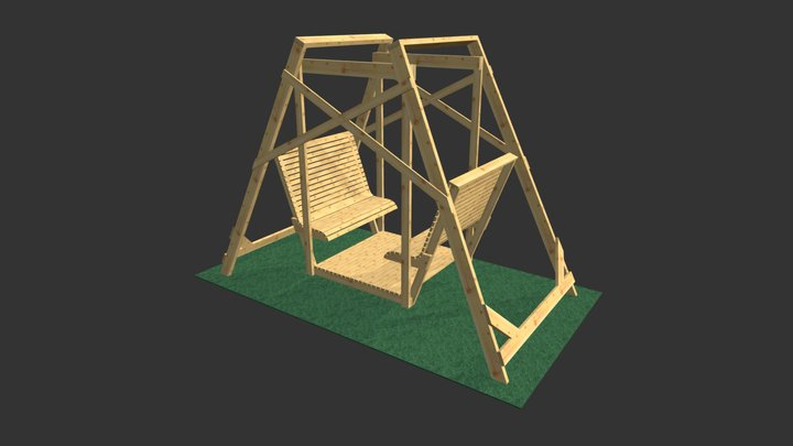 180084, Ohne Dach 3D Model