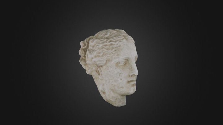 Marble Athena Hygieia (copy) 3D Model