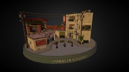 CityScene Samuel De Vos: Taipei 3D Model