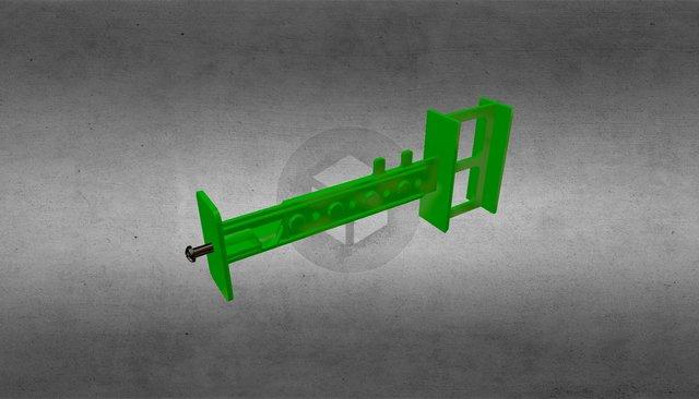 Регулируемая перемычка комблока (утепл-опалубка) 3D Model