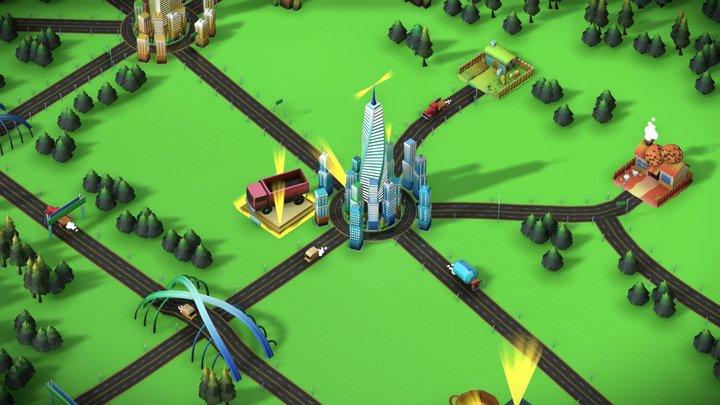 Transit King IP V2 3D Model
