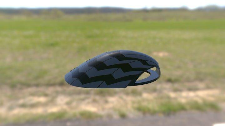 Bicycle Helmet #1 Design 3D Model