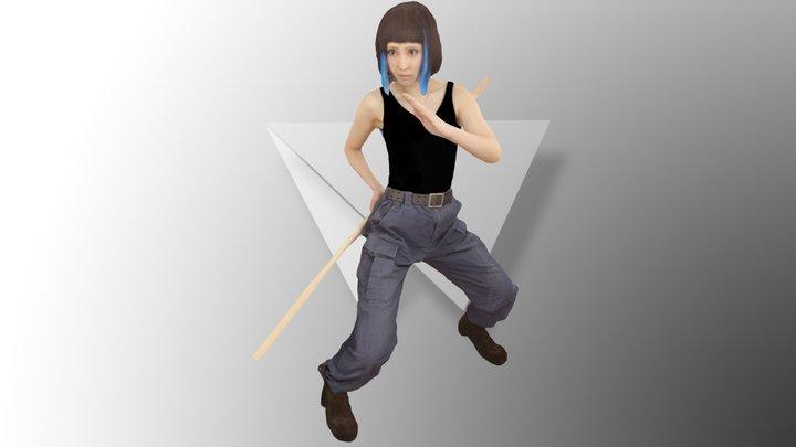 Mori Mako Fan Scan 3D Model