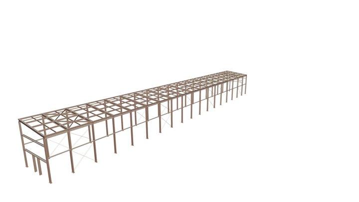 00903 Склад Warehouse 3D Model