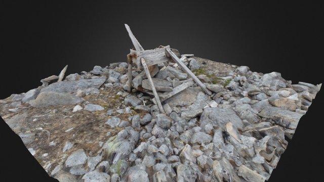 Bjørnøya selvskudd 3D Model
