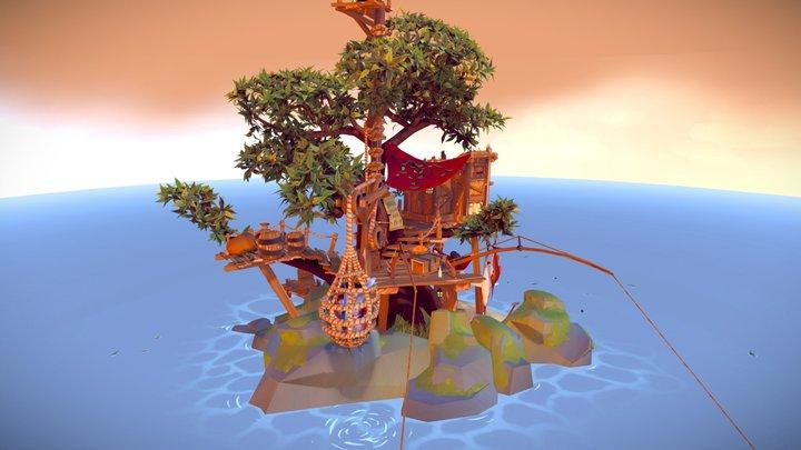 Fisher Hideout 3D Model