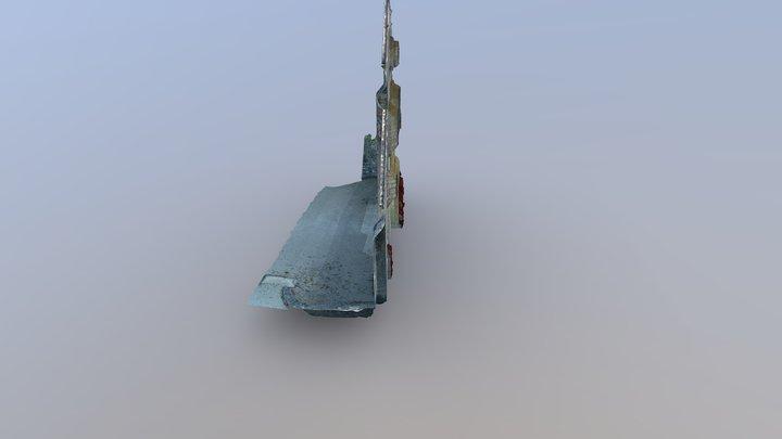 Abbaye Façade Simplified 3d Mesh 3D Model