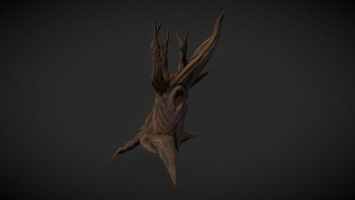 Stylized tree 3D Model