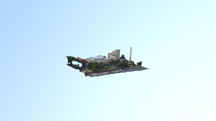 Lapangan Kemdikbud 3D Model