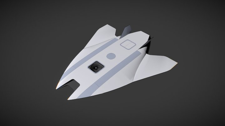 Scramjet Transport 3D Model