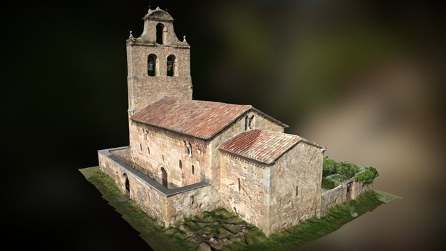 San Vicente del Valle (DRONE) 3D Model
