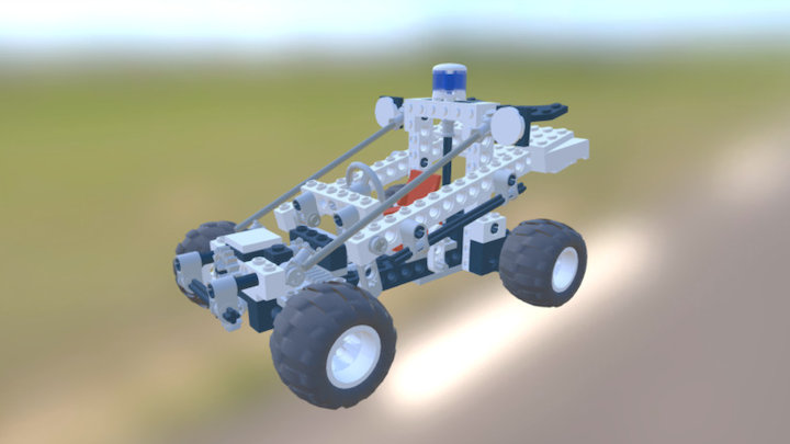 LEGO 8230 Police Buggy 3D Model