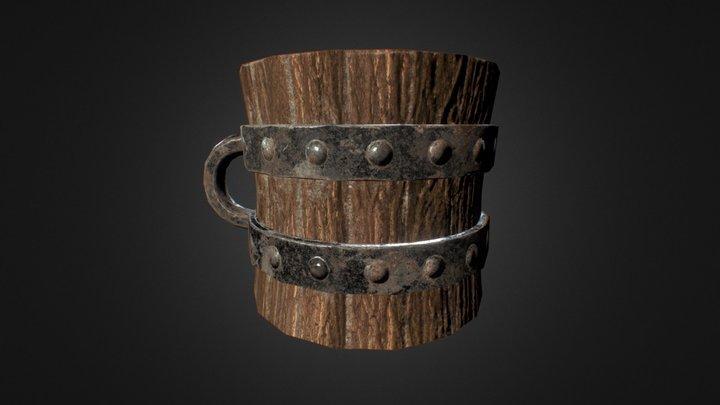 Alternative Viking Helmet 3D Model