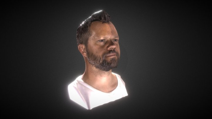 Daniel Noree 3D scan 3D Model
