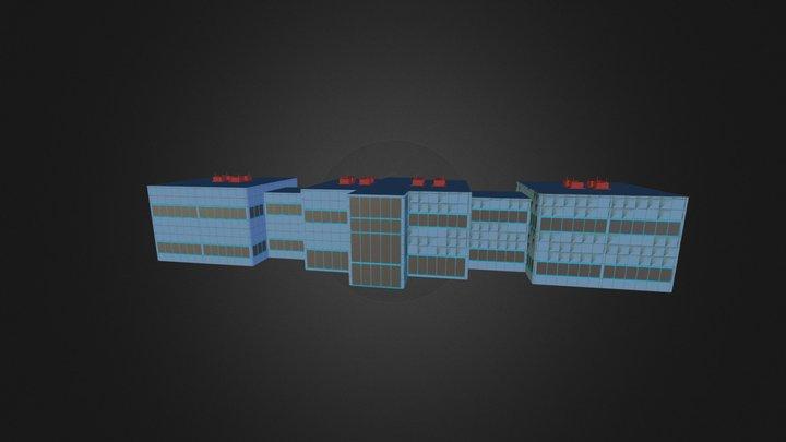 universidad 3D Model