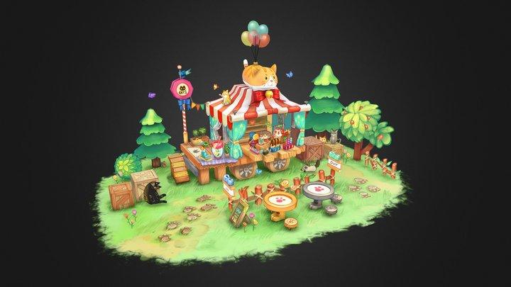 Catshop 3D Model