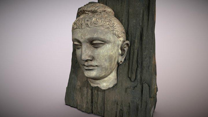 Buddha  |  Gandhara, Schist. 3D Model