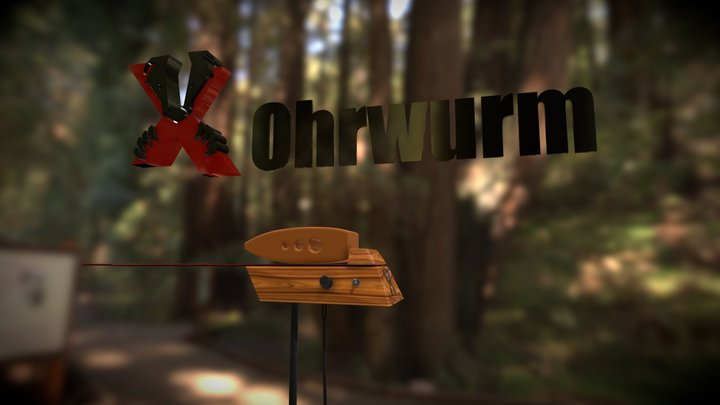 1-daxo-ohrwurm 3D Model