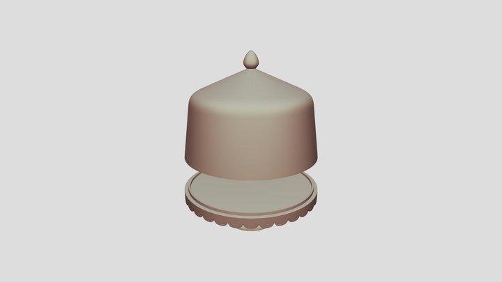 0392-cakestand together 3D Model