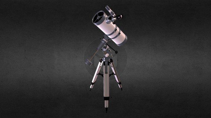 Reflector Telescope 3D Model