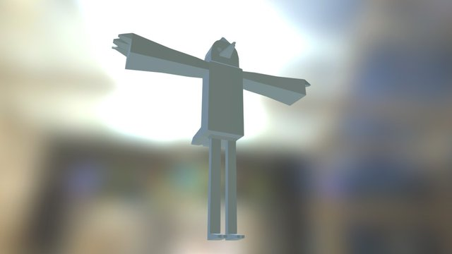 Mordecai 3D Model