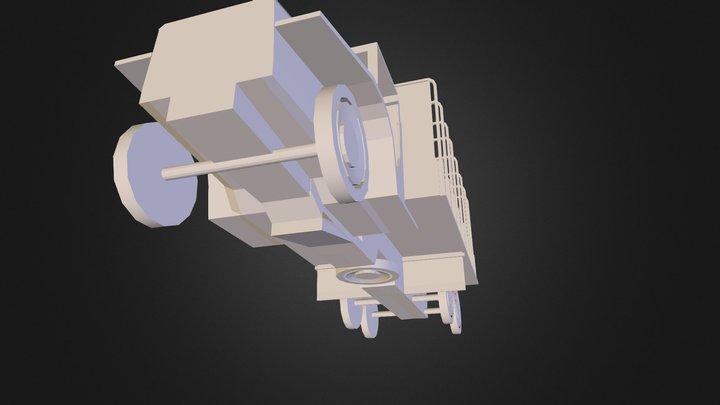obj_ww2truck 3D Model