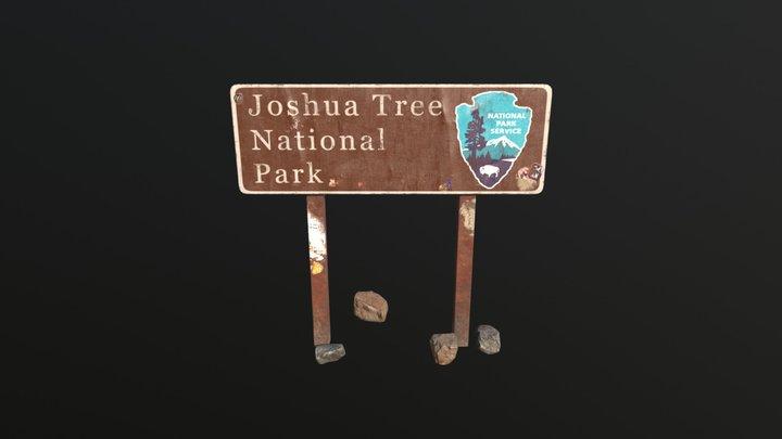Sign 3D Model