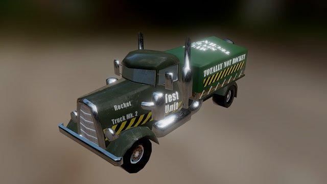 Rocket Truck 3D Model