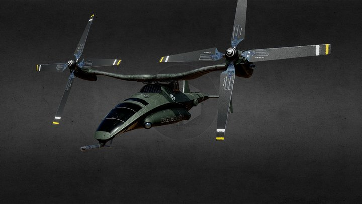 Osprey X-80 3D Model