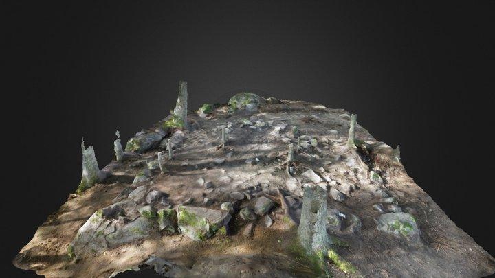 Medieval foundation 3D Model