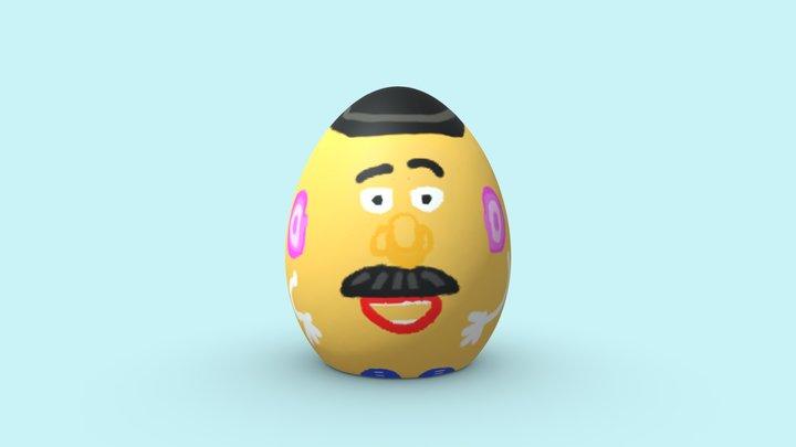 Monsieur Patate easter egg 3D Model