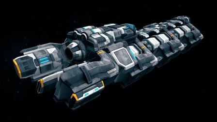 SpaceShips Constructor 4 3D Model