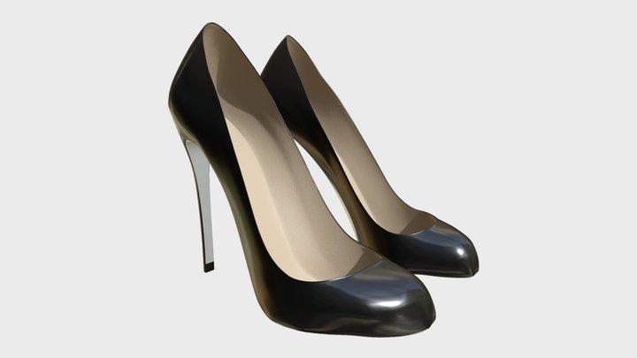 Shoes 3 3D Model