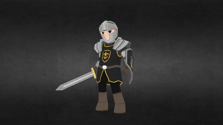 The Rage Knight 3D Model