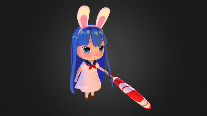 Usagi- Chan 3D Model