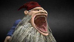 The Fat Gnome 3D Model