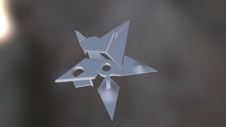 Star Puzzle 3D Model