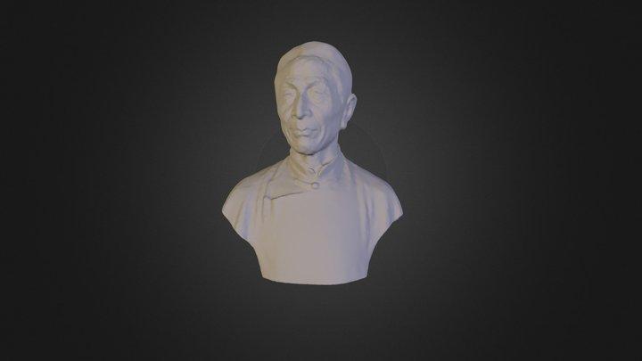 高镜朗(1892—1983) 3D Model