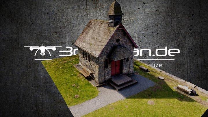 Small Chapel in Monschau/Germany 3D Model