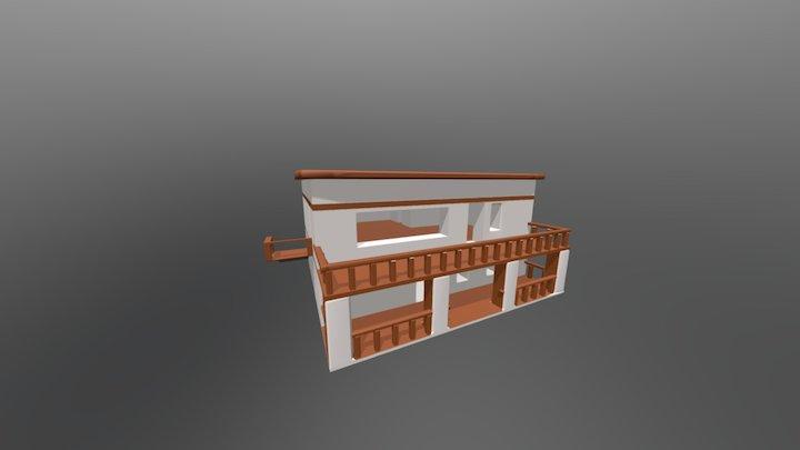 Random Building #1 3D Model