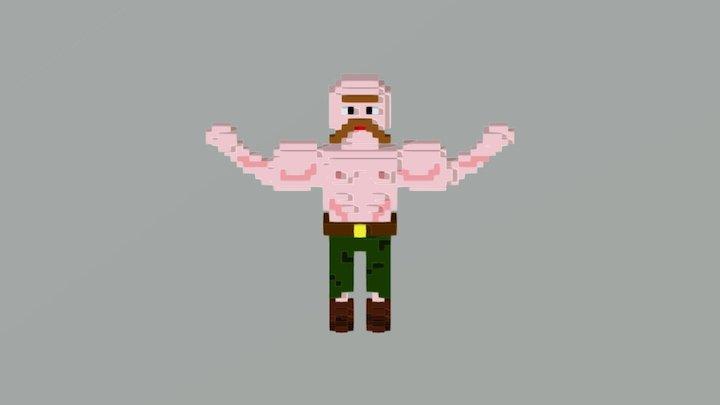 Brutal Man 3D Model