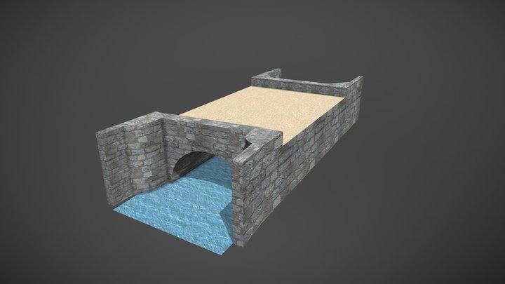 Puente de Las Viudas 3D Model