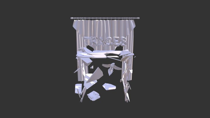 The early bird (sigh) Traces X 3D Model