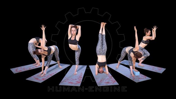 Yoga 003 Bundle 3D Model