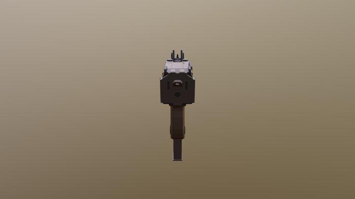 PM9 - Submachine Gun 3D Model