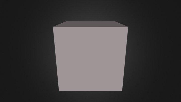 Hollow Cube 3D Model