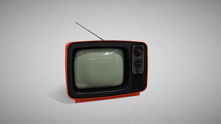 70's TV 3D Model